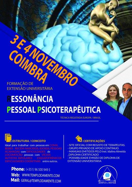 3 e 4 Novembro Coimbra